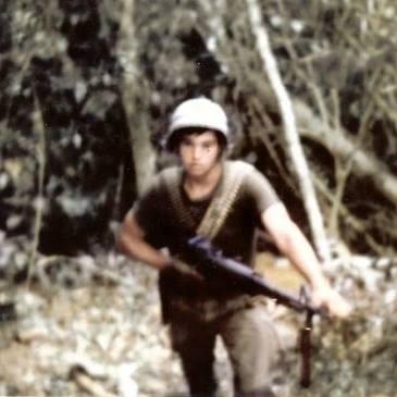 Danny Lane Combat Us Marine In Vietnam